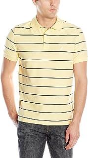 Nautica Men's Classic Short Sleeve Striped Polo T-Shirt