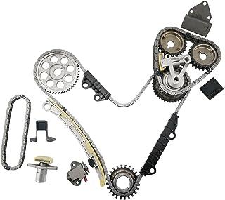 2.7L // DOHC // V6 // 24V // 2500cc XL-7//2.5L Vitara Suzuki//Grand Vitara 2700cc 2737cc DNJ TK523 Timing Chain Kit for 1999-2006 // Chevrolet Tracker