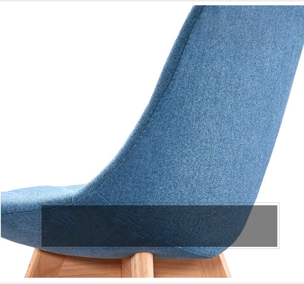 Nordic salle à manger chaise bureau minimaliste moderne négocier loisirs tissu maison restaurant chaise (Couleur : A) B