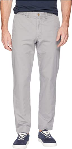 Cotton Stretch Twill Bedford Flat Pants