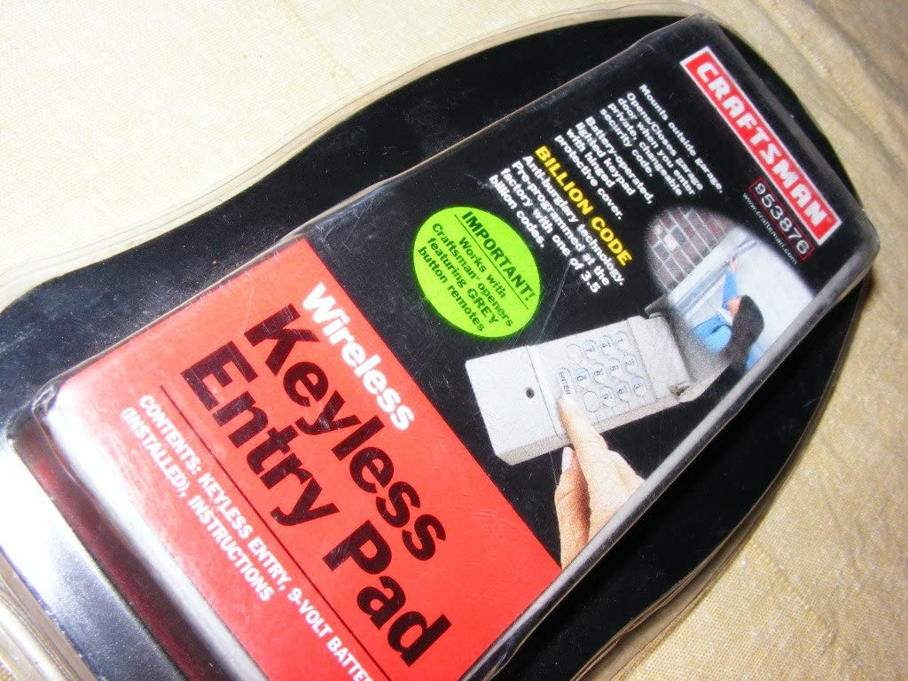 Craftsman Keypad 53876 Garage Year-end annual account Door Liftmaster Remote Opener 66LM Max 44% OFF