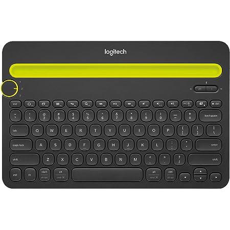 Logitech K480 Teclado Inalámbrico Multidispotivo para Windows, Apple iOS, Android o Chrome, Bluetooth, Diseño Compacto, ...