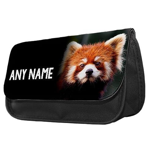 2a620b41e Personalised Red Panda Animal Pencil Case / Make up Bag 251 2018