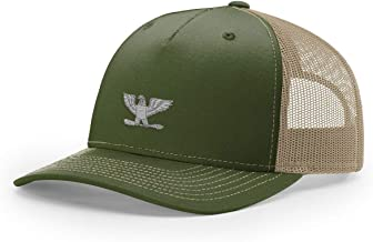 Army O-6 Colonel Rank Embroidered Richardson Hat