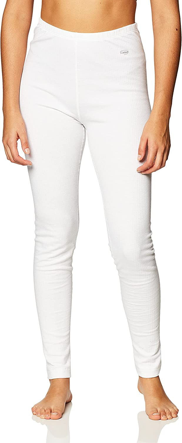 Duofold by Champion Womens Thermals Base-Layer Underwear, XS White