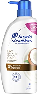Head Shoulders Dry Scalp Care Anti Dandruff Shampoo with Coconut Oil 660 ml (Pack of 1)