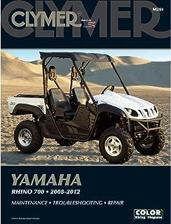 2008-2012 CLYMER YAMAHA RHINO 700 SIDE BY SIDE ATV SERVICE MANUAL NEW M291