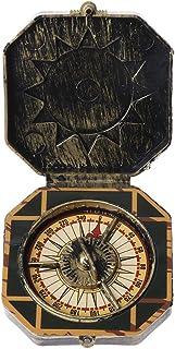 AERVEAL Pirat kompass, nautisk kompass pirat kapten kostym leksak halloween fest cosplay dekoration