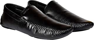 Lee Fox Shoes for Men Casual Loafer LF554 Black