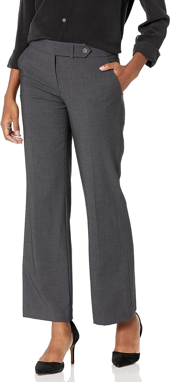 Calvin Klein Women's Petite Size Straight-Leg Pant at  Women's Clothing store