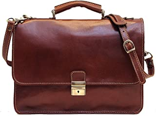 handmade leather briefcase morocco
