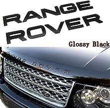 HAWKE 3D Chrome Bonnet Letters for Range Rover Sport 2006