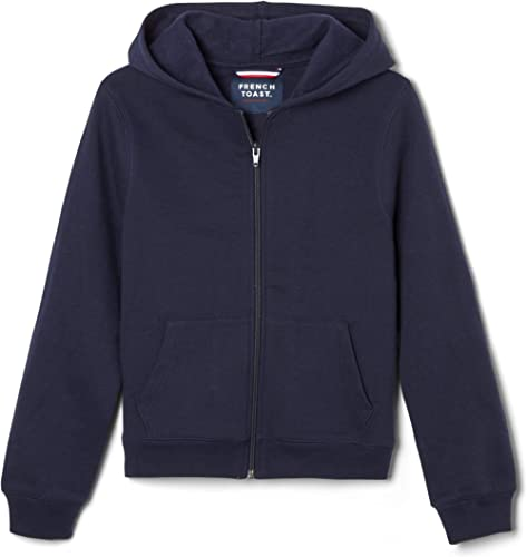 French Toast Boys' Fleece Hooded Sweatshirt