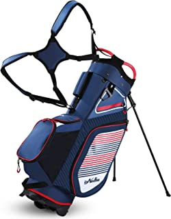 Golf Stand Bag 14 Way Divider, 6LB Lightweight Portable Walking/Riding Bags with Dust Cover, Straps