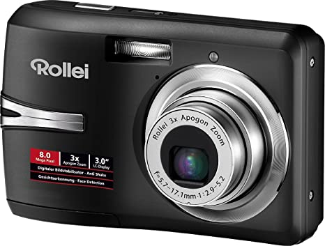 Rollei Rcp 8330x 3 Zoll Schwarz Kamera