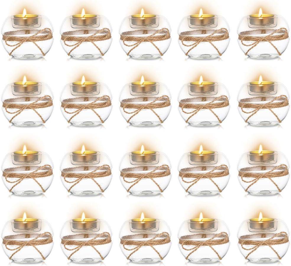 Utilizado En Comedor//Sala De Estar//SPA//Yoga//Meditaci/ón Sziqiqi Candelabro De Boda Candelabro De Cristal Bricolaje Candelabro De Pedir Un Deseo 8 Piezas