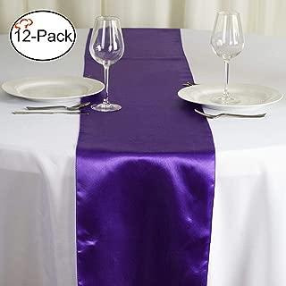 Best dark purple table runners Reviews