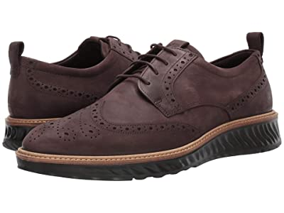 ECCO ST1 Hybrid Brogue Tie (Mocha) Men