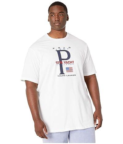 Polo Ralph Lauren Big & Tall Big Tall Short Sleeve T-Shirt (White) Men