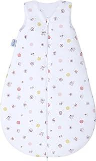 Julius Zöllner Julius Zöllner Baby Sommerschlafsack aus 100 Prozent Baumwolle, Größe 70, 6-12 Monate, Standard 100 by OEKO-TEX, Made in EU, Happy Animals rosa