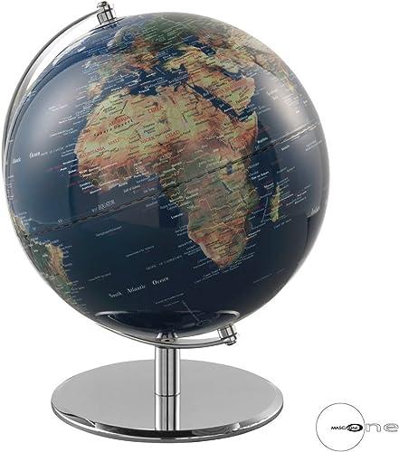 cómodo Mascagni Globo Globo Globo terráqueo azul diámetro 25 cm  descuento