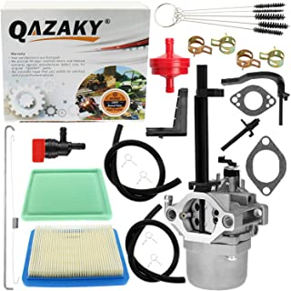 QAZAKY Carburetor Air Filter Kit Replacement for Briggs & Stratton 598305 591378 694952 695328 695330 695918 695919 695920...