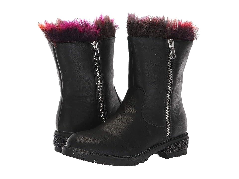 Steve Madden Kids Jnorthie (Little Kid/Big Kid) (Black Multi) Girls Shoes
