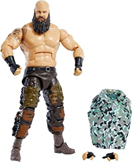 WWE Braun Strowman Elite Collection Series 86 Action Figure 6 in Posable Collectible Gift Fans Ages 8 Years Old and Up