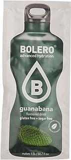 Bolero Bebida Instantánea sin Azúcar, Sabor Guanabana - Paquete de 24 x 9 gr - Total: 216 gr