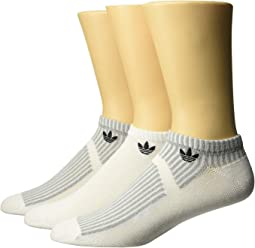 Originals Prime Mesh III No Show Socks 3-Pack