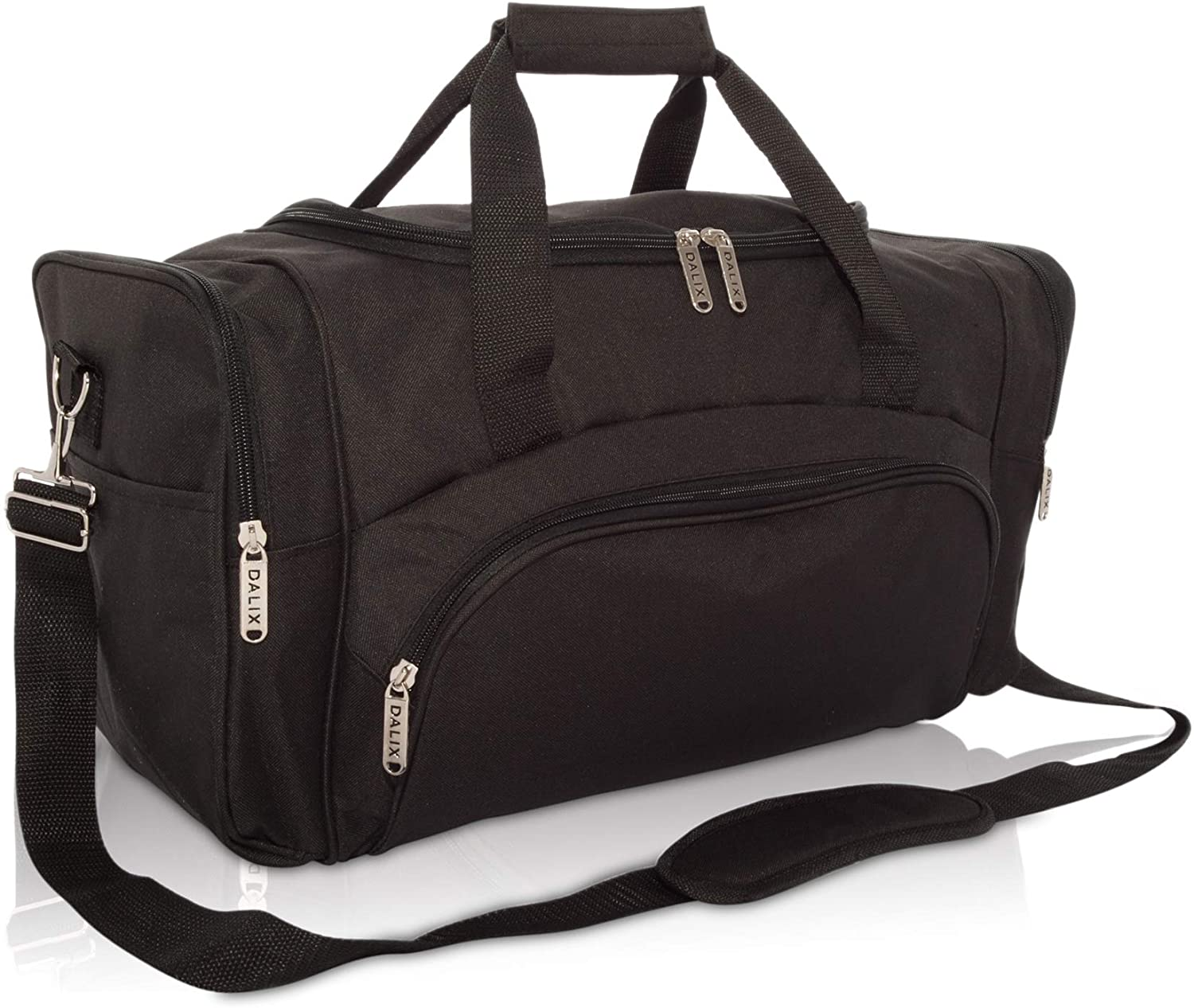 DALIX Signature Travel or Gym Duffle 5% OFF Black Gray in Shipping included B Navy Bag