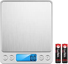 KKmoon Balança alimentar de 4,4 libras Balança de cozinha digital Display LCD Peso da escala G OZ OZT DWT GN CT para assar...
