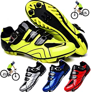 Cycling Shoes,Professional Road Mountain Biking Shoes, Cycling Shoes Wear Breathable Slip for Outdoor Sports Cycling