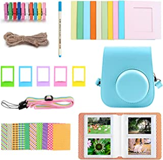 40PCS Camera Accessories Kit with PU Case Photo Frame Album Stickers Strap Compatible with Fujifilm Instax Mini 11 Instant...