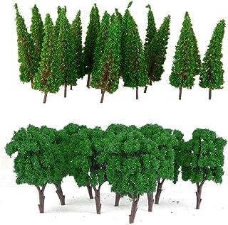 1: 100 Model Tree Wargame Railway Diorama Cedar Tree Micro Landscape