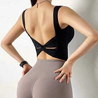 Sexy Back Stretchy Gym Yoga Sports Bras Women Push Up Breathable Fitness Workout Bras Athletic Sport Brassiere Crop Top