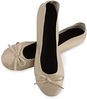 02fec46f108 Lote de 24 Bailarinas Plegables Plegadas DORADAS para Bodas - Manoletinas  color ORO, Zapatillas Bailarinas