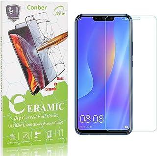 Conber Verre Trempé pour Huawei P Smart Plus 2018 / Huawei Nova 3I, [3 Pièces] Dureté 9H, sans Bulles, Réponse Tactile, Fi...