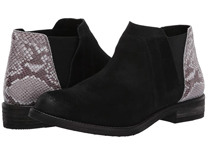 Clarks  Demi Beat (Black/Snake Combi) Womens  Boots