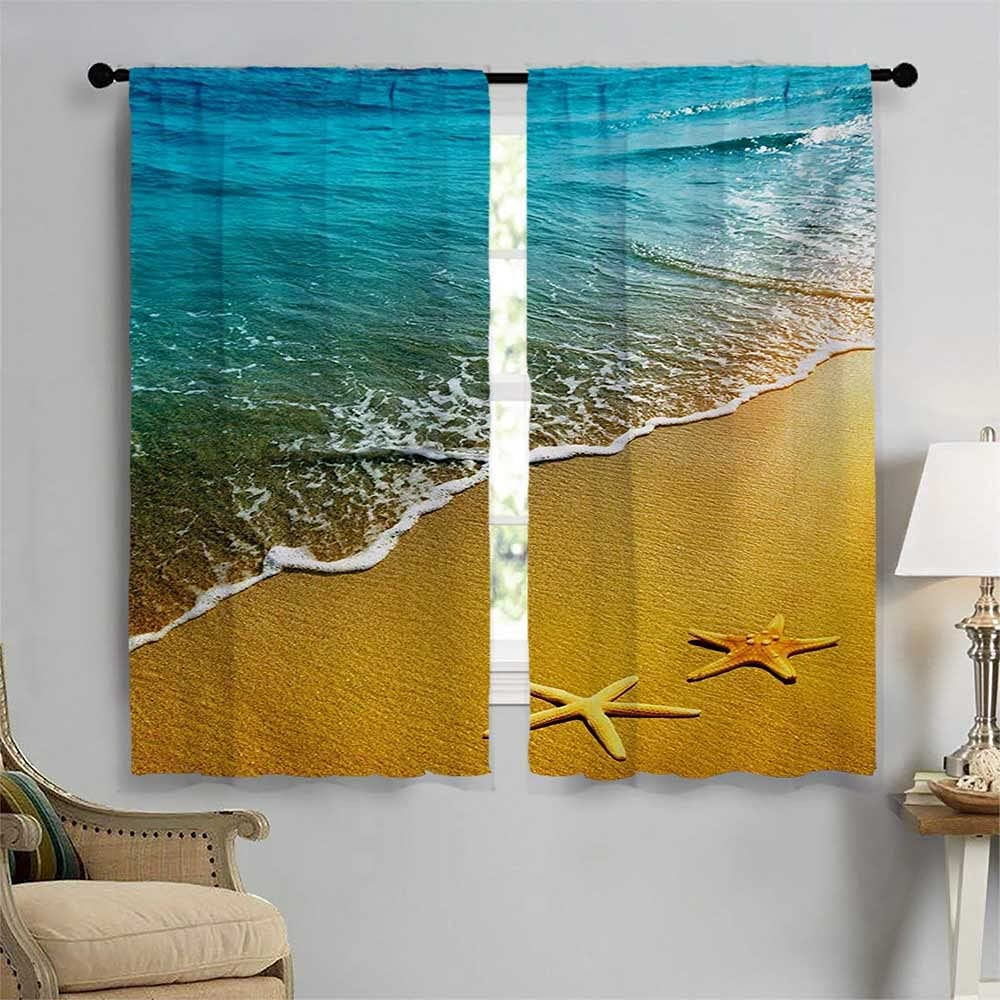 Landscape Blackout Draperies for Bedroom Sales results No. 1 Island Outlet ☆ Free Shipping Beach Tropical C