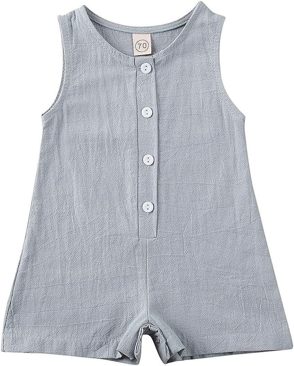 XARAZA safety Newborn Baby Boys Girl Jumpsuit Rom Ruffle Overalls Short Max 71% OFF