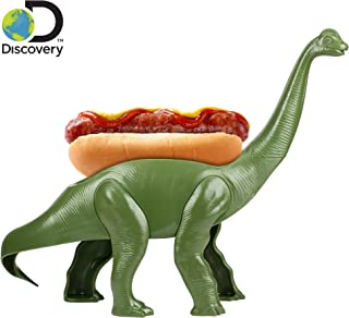 Discovery Weeniesaurus Snack & Meal Holder – Epic Brontosauruses Shaped Serving Tray – Perfect for Hot Dogs, Burritos, Candy, Cookies & Much More – Great Gift for Kids & Kidults that Love Dinosaurs