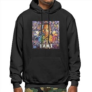 PPneby Chris Brown Fame Men`s Hoodie Lightweight Slim Pullover Sweatshirt Black