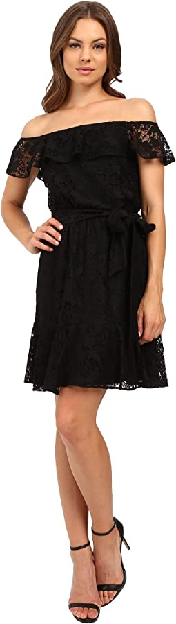 Lace Off the Shoulder Dress JS6D8622