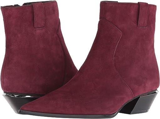 Bordeaux Leather/Suede