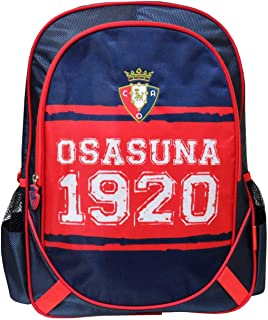 Osasuna MC-02-SA Mochila Bordada Adaptable a Carro, 43 cm