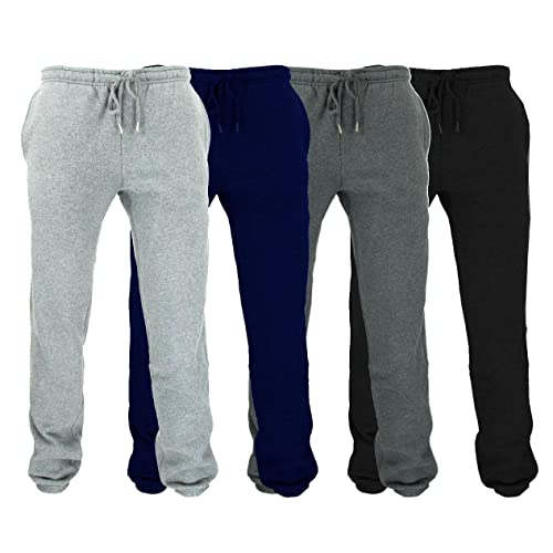 82e565442 Wear The Gear Boys Kids Bottoms Joggers Jog Pants Tracksuit Jog Bottom  Fleece 3 Zip Pockets