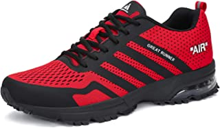 Mens Womens Breathable Athletic Running Shoes Air Cushion Walking Training Jogging Gym Fashion Sneakers