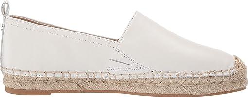 Bright White Nappa Verona Leather