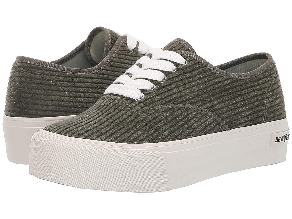 SeaVees Legend Sneaker Platform (Burnt Olive) Women